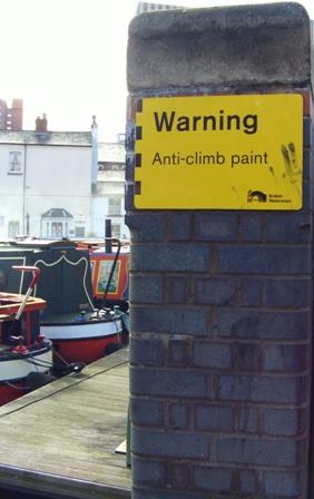 No climb, no crime