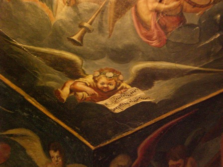 creepy cherub