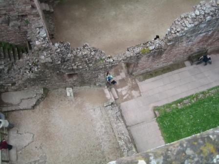Goodrich Castle - Sara