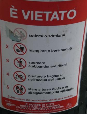 Italian for No