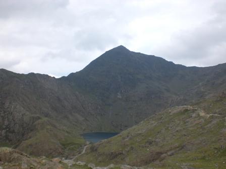 Yr Wyddfa, the summit