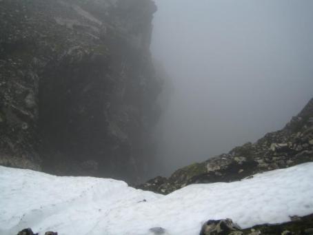 Ben Nevis cliff