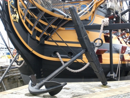 HMS Victory anchor