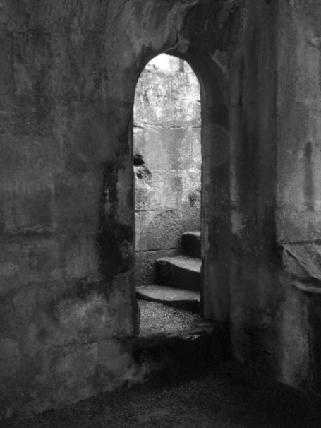 Warkworth Castle underground