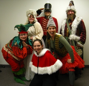 Father Christmas, Elf, Kristy, Elf, Christmas Past, Tin Soldier