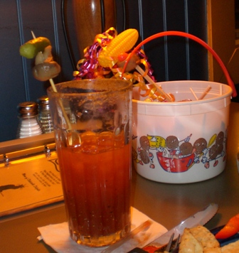 Bloody Mary and CornDog Wand