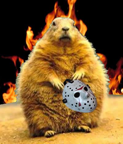 Evil groundhog