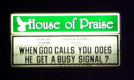 phone call from god